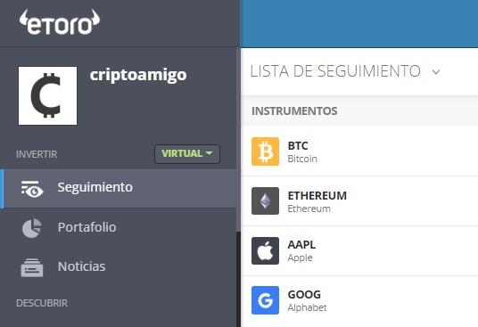 cartera virtual